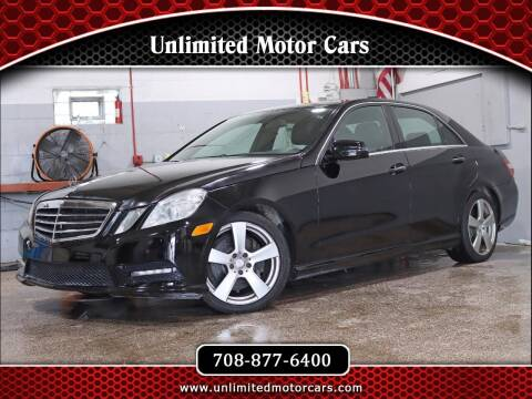 2013 Mercedes-Benz E-Class for sale at Unlimited Motor Cars in Bridgeview IL