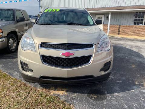 2012 Chevrolet Equinox for sale at Holland Auto Sales and Service, LLC in Somerset KY