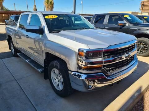 2018 Chevrolet Silverado 1500 for sale at A AND A AUTO SALES in Gadsden AZ