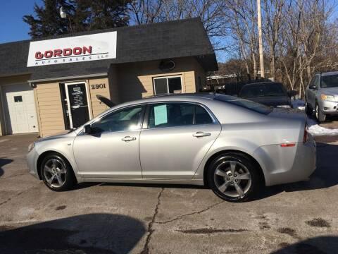 2008 Chevrolet Malibu for sale at Gordon Auto Sales LLC in Sioux City IA
