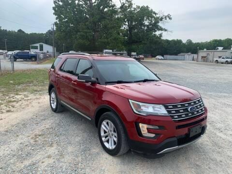 2016 Ford Explorer for sale at Sanford Autopark in Sanford NC