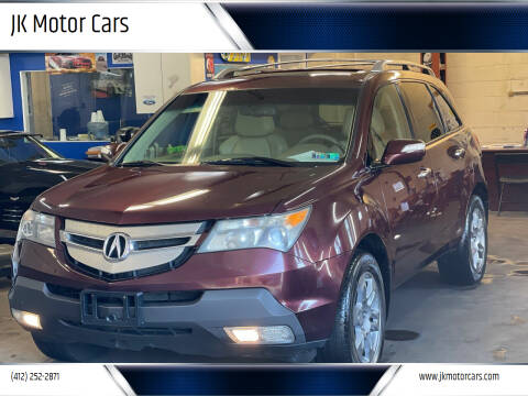 2008 Acura MDX for sale at JK Motor Cars in Pittsburgh PA