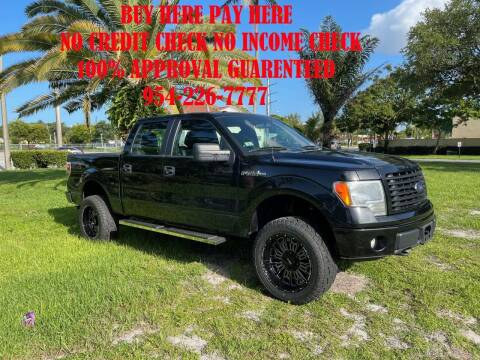2014 Ford F-150 for sale at Transcontinental Car USA Corp in Fort Lauderdale FL