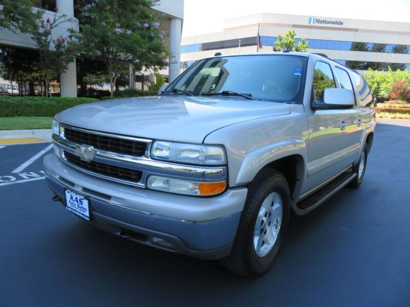 2004 Chevrolet Suburban for sale at KAS Auto Sales in Sacramento CA