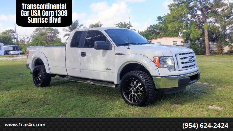 2011 Ford F-150 for sale at Transcontinental Car in Fort Lauderdale FL