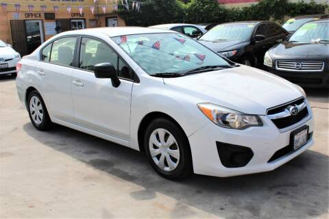 2013 Subaru Impreza for sale at FJ Auto Sales in North Hollywood CA