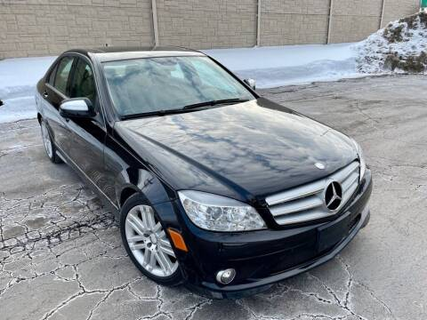 2009 Mercedes-Benz C-Class for sale at EMH Motors in Rolling Meadows IL