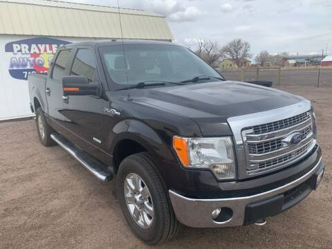 2014 Ford F-150 for sale at Praylea's Auto Sales in Peyton CO