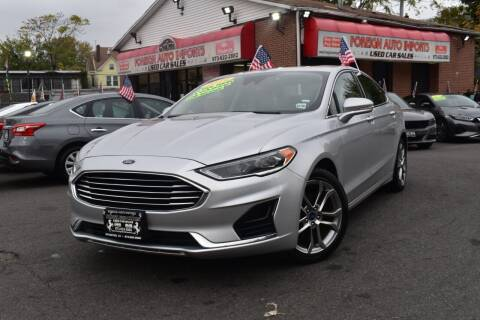 2019 Ford Fusion for sale at Foreign Auto Imports in Irvington NJ