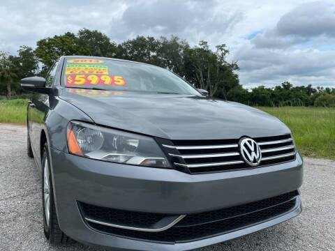 2013 Volkswagen Passat for sale at Auto Export Pro Inc. in Orlando FL