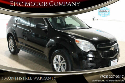 2013 Chevrolet Equinox for sale at Epic Motor Company in Chantilly VA