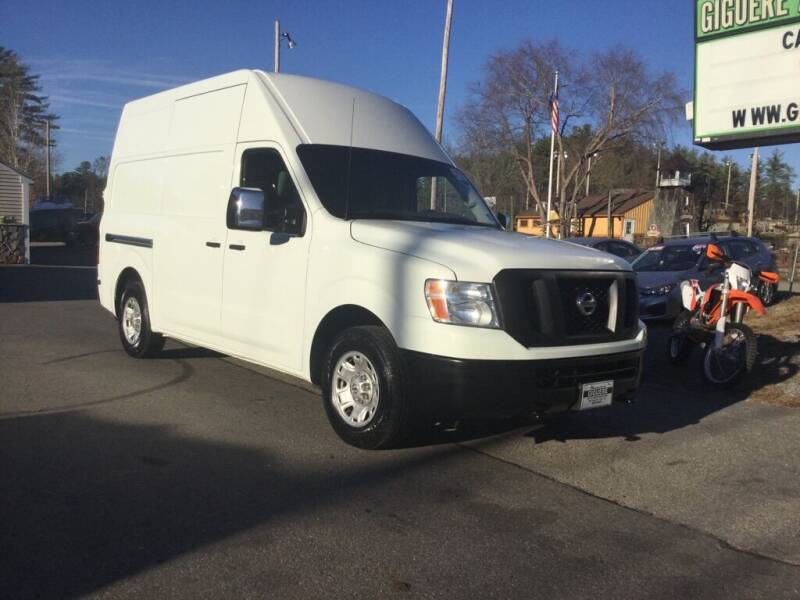 2016 Nissan NV Cargo for sale at Giguere Auto Wholesalers in Tilton NH