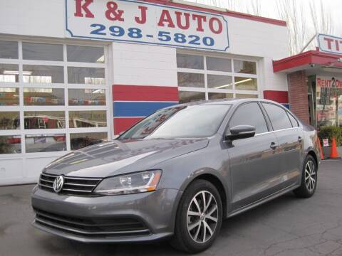 2017 Volkswagen Jetta for sale at K & J Auto Rent 2 Own in Bountiful UT