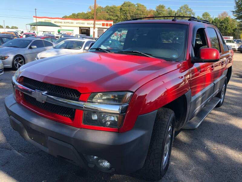 2003 Chevrolet Avalanche for sale at Atlantic Auto Sales in Garner NC