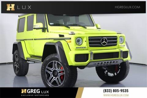 2017 Mercedes-Benz G-Class for sale at HGREG LUX EXCLUSIVE MOTORCARS in Pompano Beach FL
