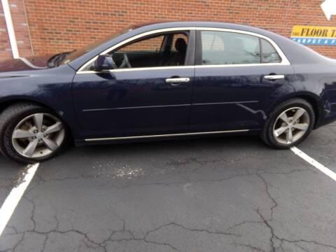 2012 Chevrolet Malibu for sale at West End Auto Sales LLC in Richmond VA