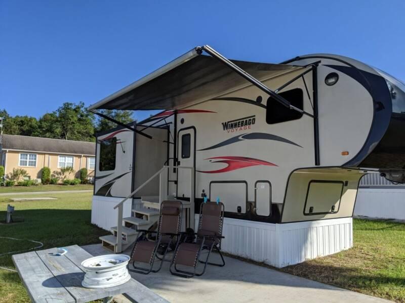 2015 Winnebago Voyage 29FWRSS for sale at RV Wheelator in Tucson AZ