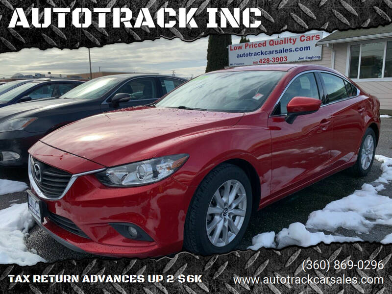2015 Mazda MAZDA6 for sale at AUTOTRACK INC in Mount Vernon WA