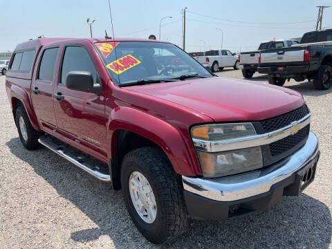 2005 Chevrolet Colorado for sale at Top Line Auto Sales in Idaho Falls ID