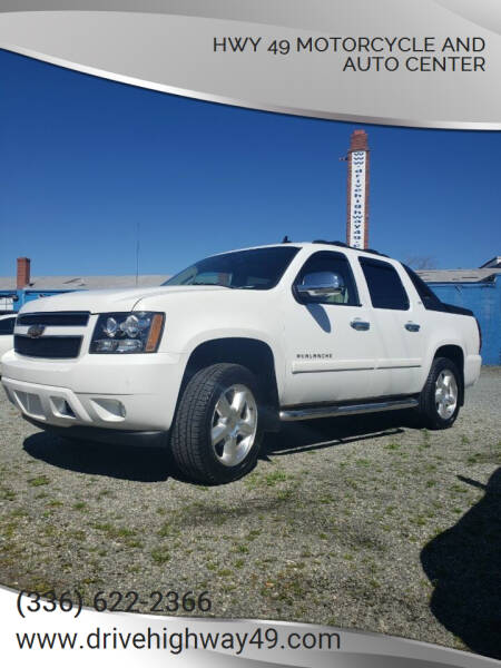 2007 Chevrolet Avalanche for sale at HWY 49 MOTORCYCLE AND AUTO CENTER in Liberty NC