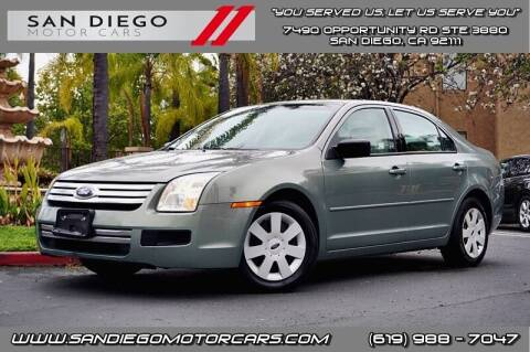 2008 Ford Fusion for sale at San Diego Motor Cars LLC in San Diego CA
