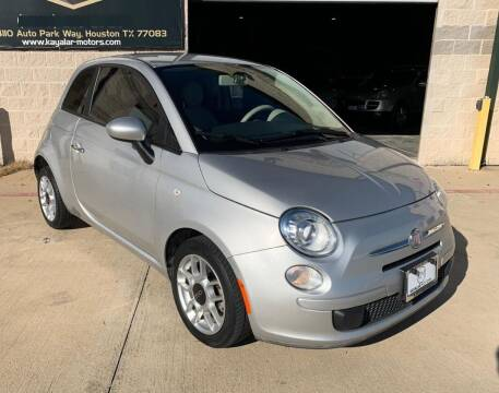 2013 FIAT 500 for sale at KAYALAR MOTORS - ECUFAST HOUSTON in Houston TX