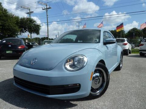 2013 Volkswagen Beetle for sale at Das Autohaus Quality Used Cars in Clearwater FL