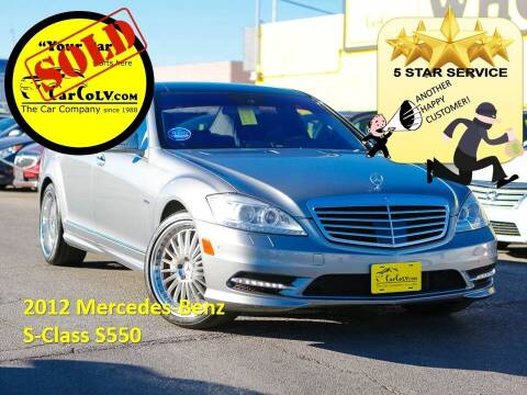 2012 Mercedes-Benz S-Class for sale at The Car Company in Las Vegas NV