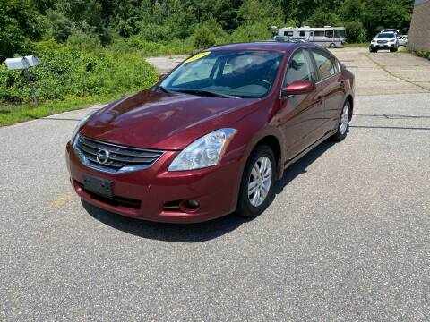 2011 Nissan Altima for sale at Cars R Us Of Kingston in Kingston NH
