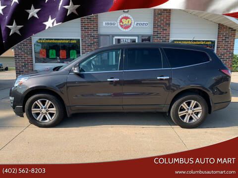 2016 Chevrolet Traverse for sale at Columbus Auto Mart in Columbus NE
