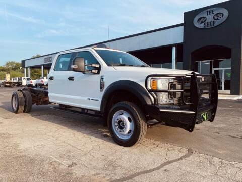 2017 Ford F-550 Super Duty for sale at The Truck Shop in Okemah OK