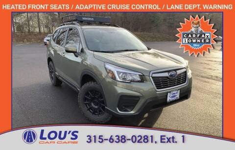 2020 Subaru Forester for sale at LOU'S CAR CARE CENTER in Baldwinsville NY