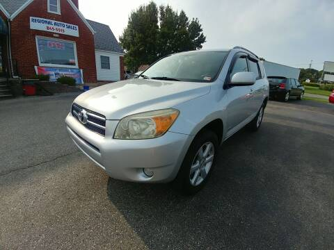2006 Toyota RAV4 for sale at Regional Auto Sales in Madison Heights VA
