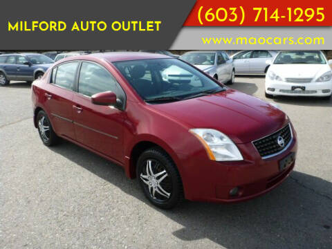 2008 Nissan Sentra for sale at Milford Auto Outlet in Milford NH