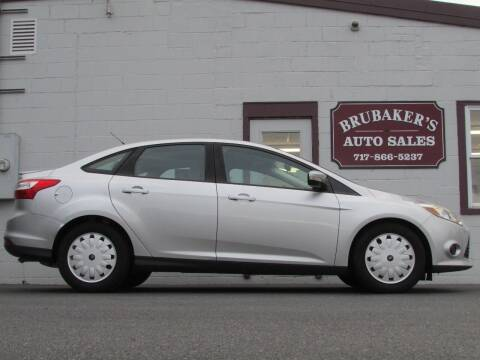 2013 Ford Focus for sale at Brubakers Auto Sales in Myerstown PA