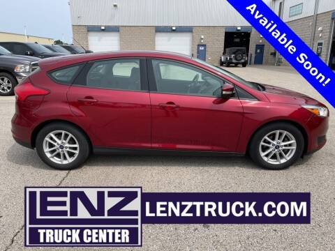 2017 Ford Focus for sale at LENZ TRUCK CENTER in Fond Du Lac WI