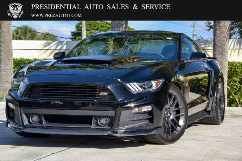 2017 Ford Mustang for sale at Presidential Auto  Sales & Service in Delray Beach FL