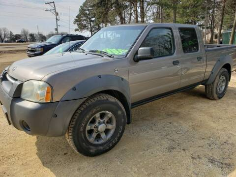 2003 Nissan Frontier for sale at Northwoods Auto & Truck Sales in Machesney Park IL