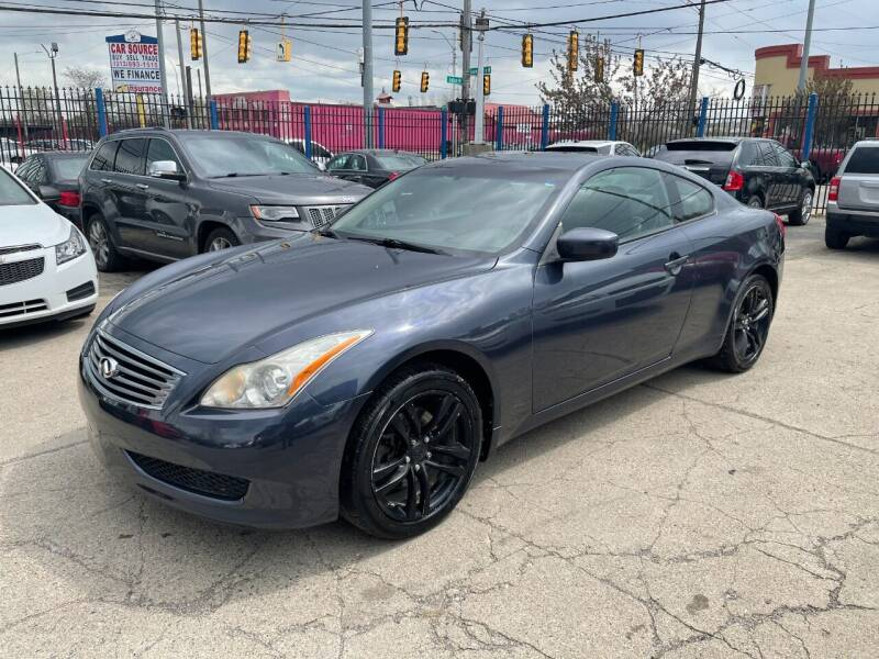 2010 Infiniti G37 Coupe for sale at SKYLINE AUTO in Detroit MI
