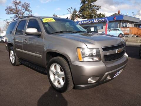 2007 Chevrolet Tahoe for sale at All American Motors in Tacoma WA