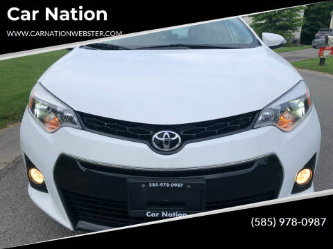 2014 Toyota Corolla for sale at Car Nation in Webster NY
