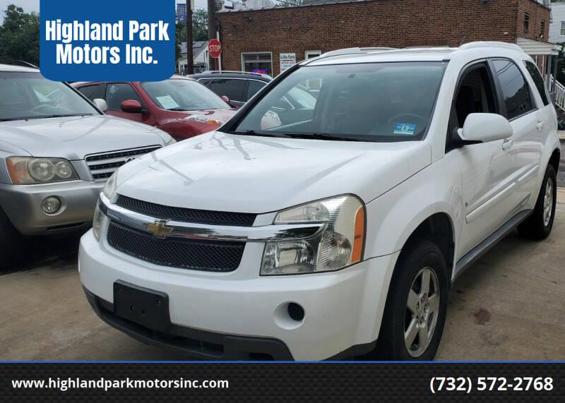 2009 Chevrolet Equinox for sale at Highland Park Motors Inc. in Highland Park NJ