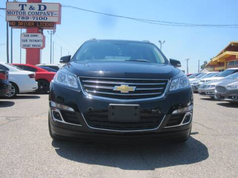 2016 Chevrolet Traverse for sale at T & D Motor Company in Bethany OK
