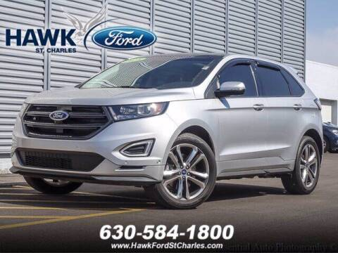 2018 Ford Edge for sale at Hawk Ford of St. Charles in St Charles IL