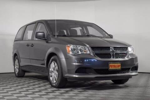 2016 Dodge Grand Caravan for sale at Washington Auto Credit in Puyallup WA