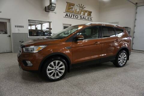 2017 Ford Escape for sale at Elite Auto Sales in Idaho Falls ID