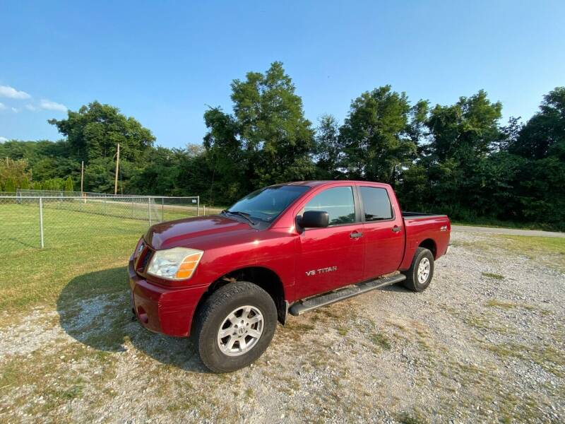 2005 Nissan Titan for sale at Tennessee Valley Wholesale Autos LLC in Huntsville AL