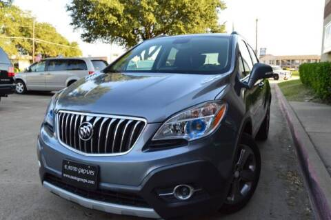 2014 Buick Encore for sale at E-Auto Groups in Dallas TX