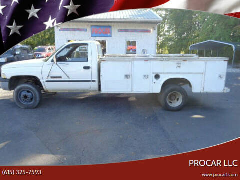 2000 Dodge Ram Chassis 3500 for sale at PROCAR LLC in Portland TN