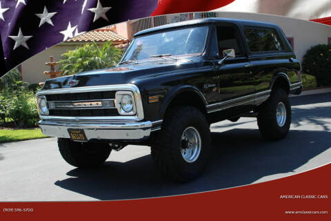 1969 Chevrolet Blazer for sale at American Classic Cars in La Verne CA